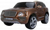 Электромобиль JJ2158 Bentley Bentayga (лицензия, 12V, металлик, EVA, экокожа, Bluetooth)